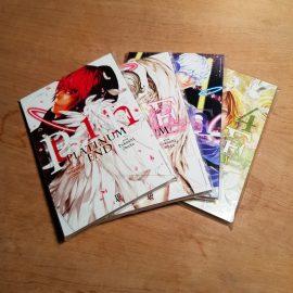 Platinum End - Vol.1 ao 4 (Lote É Outubro Mas Já Tem Panetone)