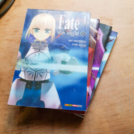 Fate Stay Night - Vol.1 ao 4 (Lote Artes Marçoais)