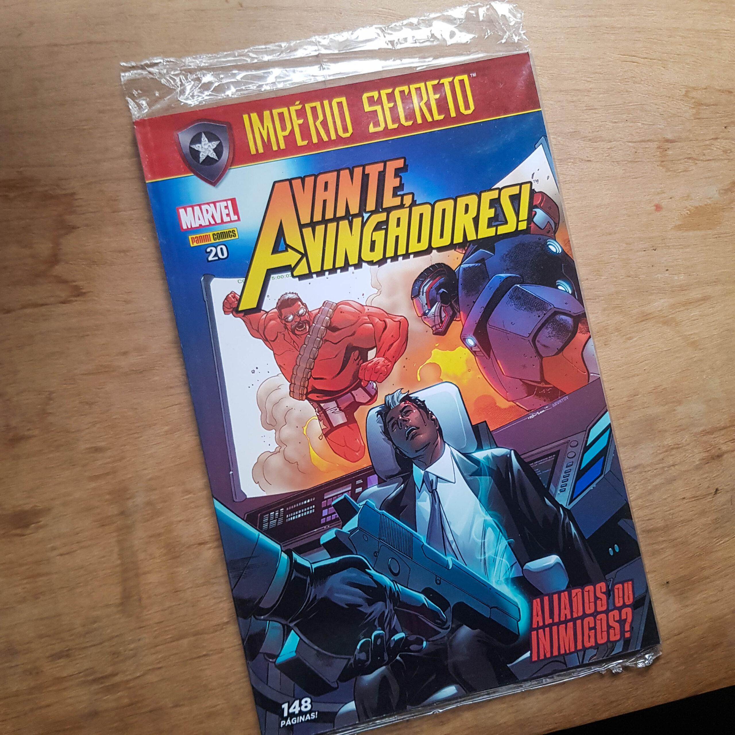 Avante, Vingadores! - Vol.20 (Lote #109)