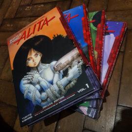 Battle angel Alita - capa dura ING - Vol.1 ao 4 (Lote Bota Fé 2021)