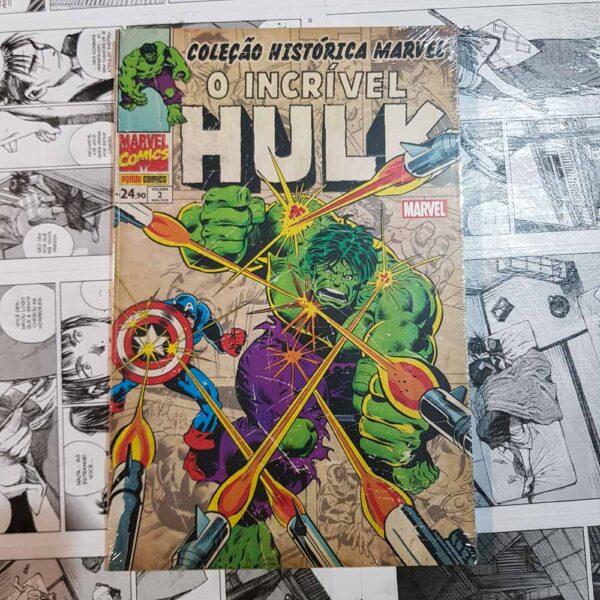 Coleção Histórica Marvel - O Incrível Hulk - Vol.2 (Lote #109)