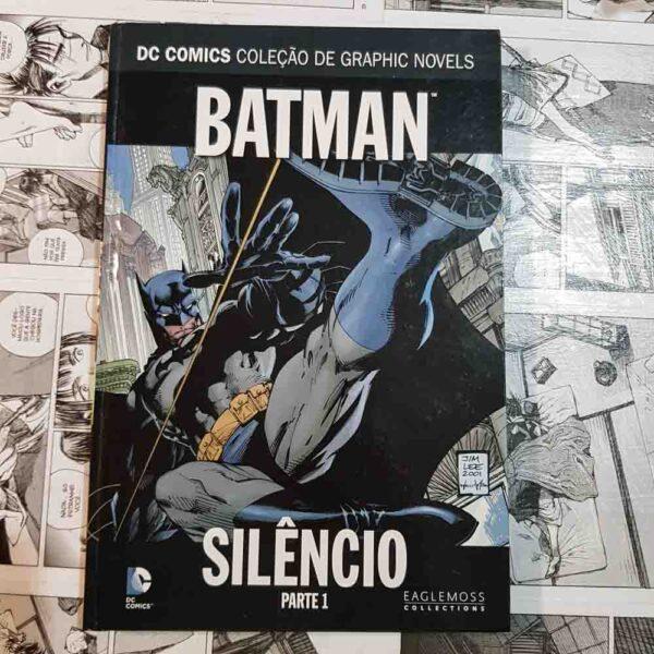DC Eaglemoss - Batman - Silêncio - Parte 1 (Lote Mainha do meu Coração)