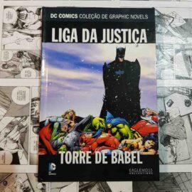 DC Eaglemoss - Liga da Justiça - Torre de Babel (Lote Seres Marçoanos)