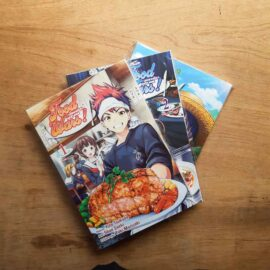 Food Wars - Vol.1 ao 3 (Lote Unidos da Quarentena)