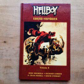 Hellboy - ed histórica - Vol.8 - A Feiticeira Troll (Lote Unidos da Quarentena)