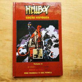 Hellboy - ed histórica - Vol.6 - O verme vencedor (Lote Unidos da Quarentena)