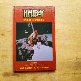 Hellboy - ed histórica - Vol.7 - Paragens Exóticas (Lote Unidos da Quarentena)