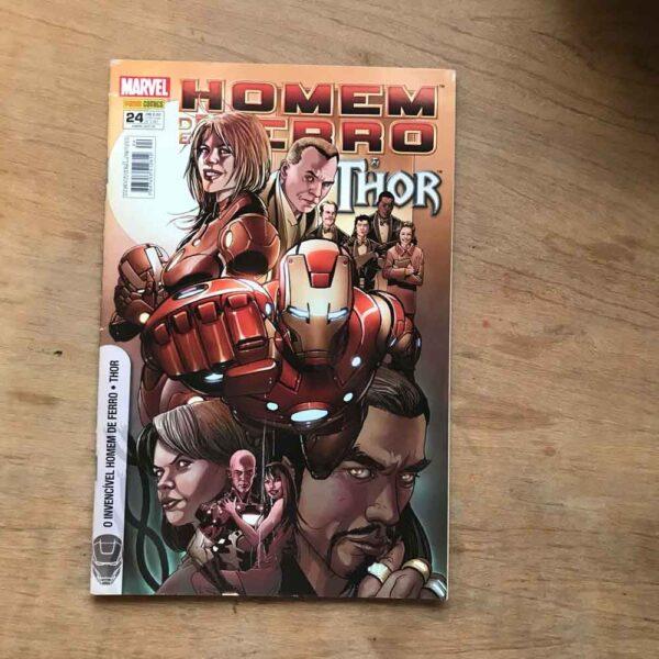 Homem de Ferro e Thor - Vol.24 (Lote #109)