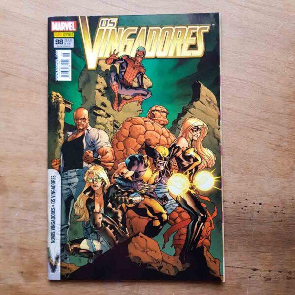 Os Vingadores - Vol.100 (Lote Unidos da Quarentena)