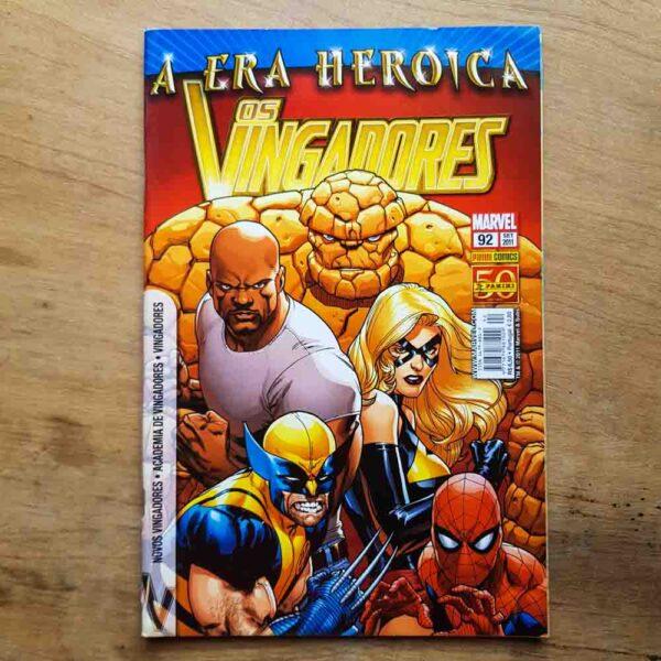 Os Vingadores - Vol.92 (Lote Unidos da Quarentena)