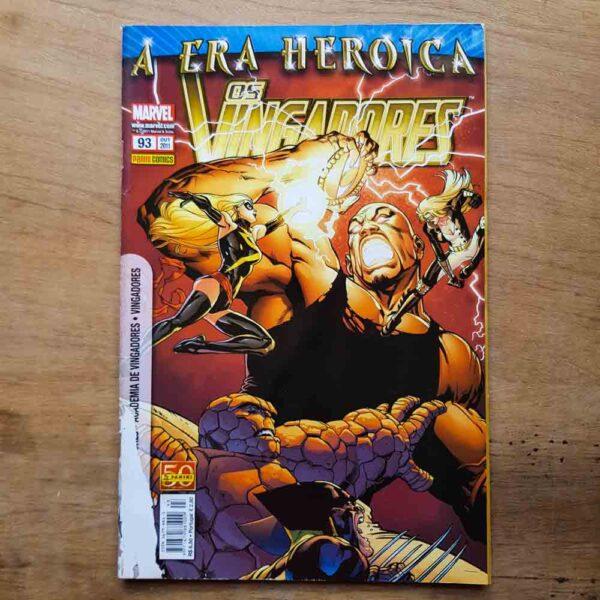 Os Vingadores - Vol.93 (Lote Unidos da Quarentena)