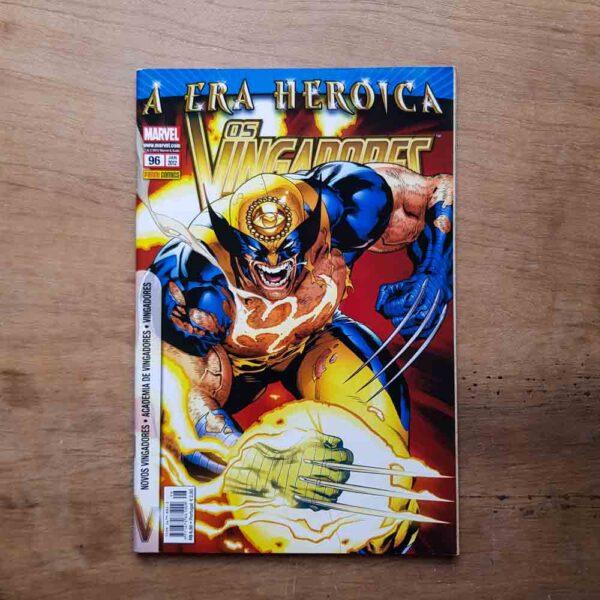 Os Vingadores - Vol.96 (Lote Unidos da Quarentena)