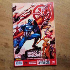 Os Vingadores - Nova Marvel - Vol.18 (Lote Unidos da Quarentena)