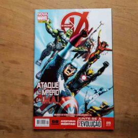Os Vingadores - Nova Marvel - Vol.19 (Lote Unidos da Quarentena)