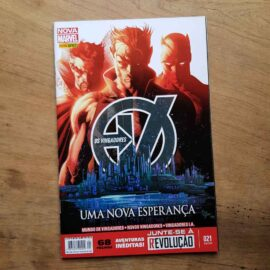 Os Vingadores - Nova Marvel - Vol.21 (Lote Unidos da Quarentena)