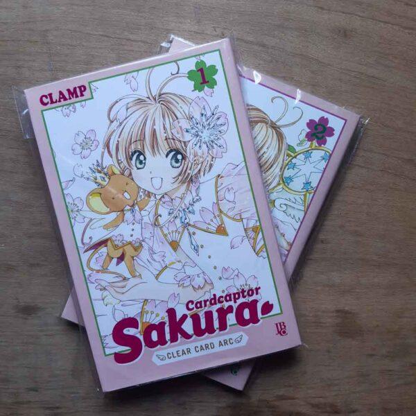 Card Captor Sakura - Clear Card Arc - Vol.1 e 2 (Mês dos Taurinos)