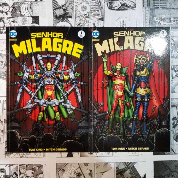 Senhor Milagre - Vol.1 e 2 (Lote #109)