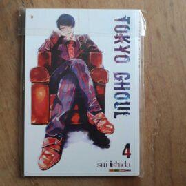 Tokyo Ghoul - primeira ed - Vol.4 (Lote Artes Marçoais)