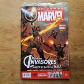 Universo Marvel - Nova Marvel - Vol.21 (Lote Unidos da Quarentena)
