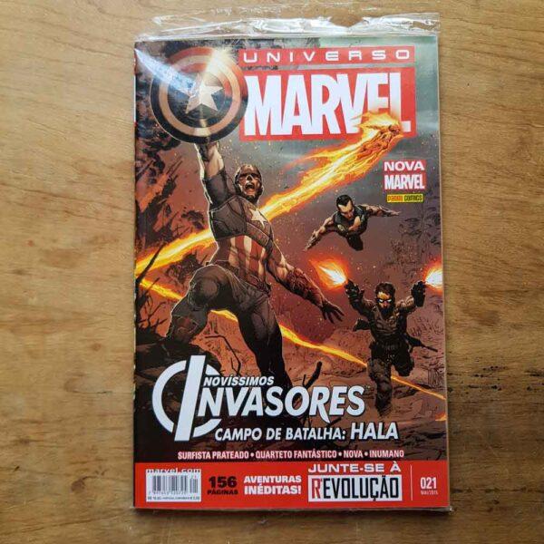 Universo Marvel - Nova Marvel - Vol.21 (Terceiro Liquidão)