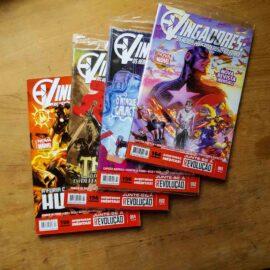 Vingadores - Os heróis mais poderosos da Terra - Vol.1 ao 4 (Lote Unidos da Quarentena)