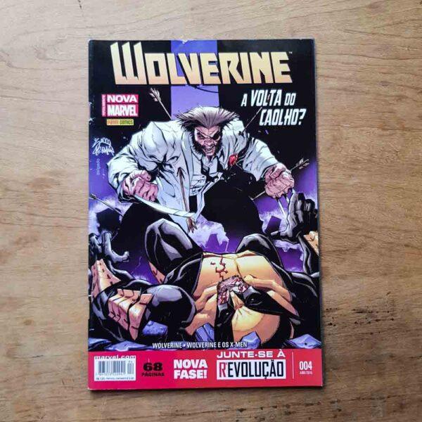 Wolverine - Nova Marvel - Vol.4 (Terceiro Liquidão)