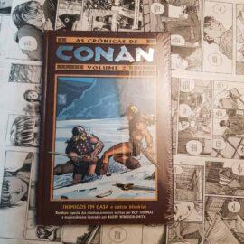 As Crônicas de Conan - Volume 2: Inimigos em Casa (Lote #109)