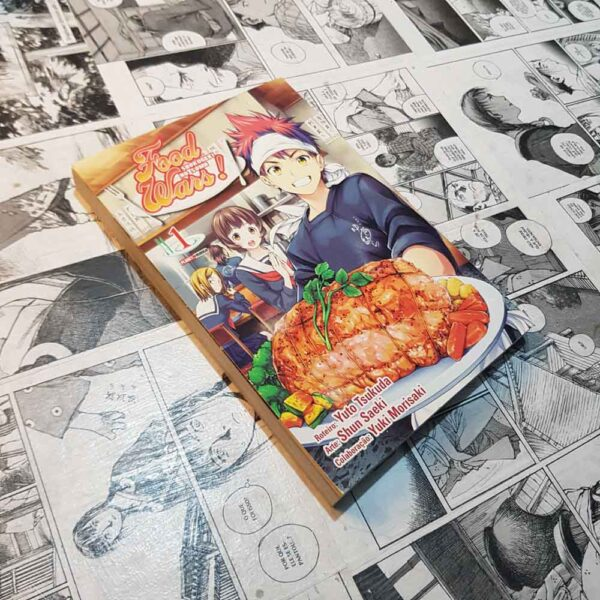 Food Wars - Vol.1 (Lote Na Real Parece Verão Sempre)