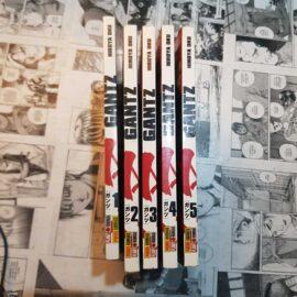 Gantz - Vol.1 ao 5 (Lote Outono é Sempre Igual)