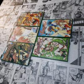 Tsubasa - Vol.1 ao 5 (Lote Fechando Abril)