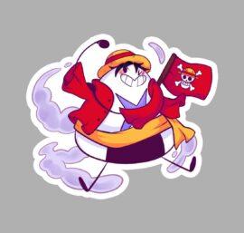 Adesivo Luffy - #100