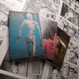 Ajin - Vol.1 ao 3 (Lote #109)