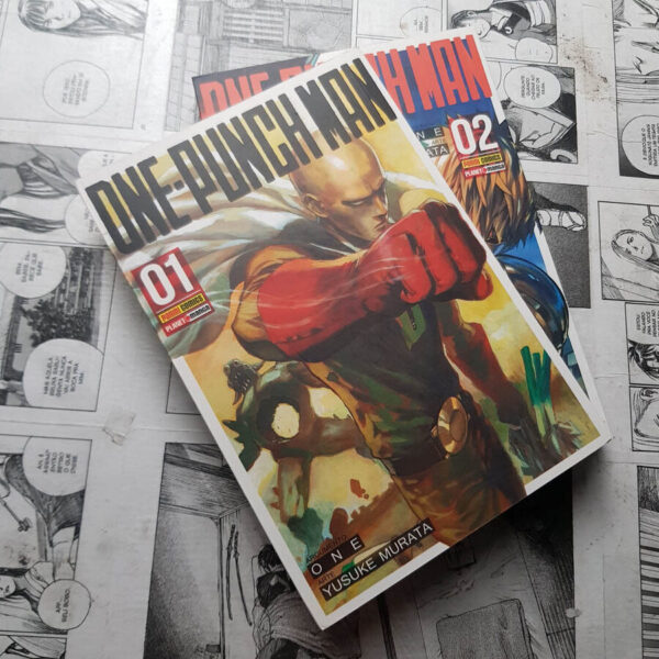 One-Punch Man - Vol.1 e 2 (Lote #109)