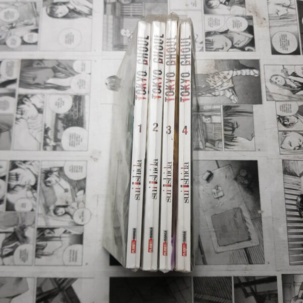 Tokyo Ghoul - Vol.1 ao 4 (Lote #106)