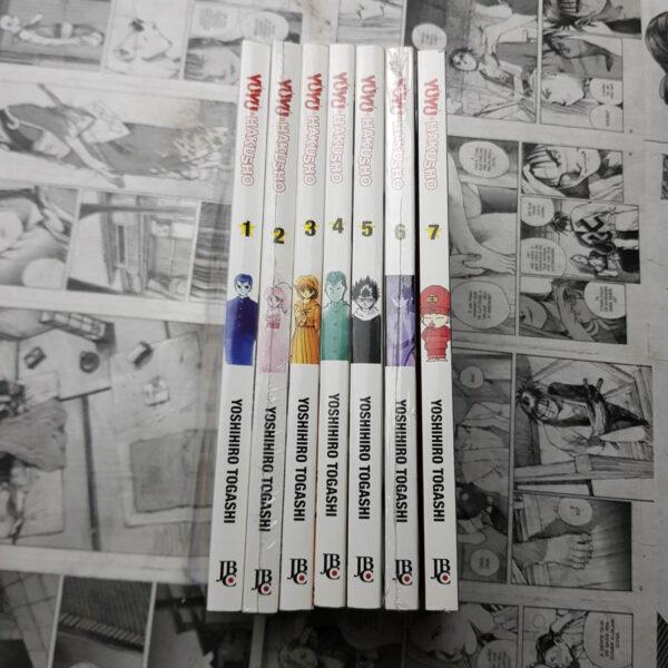 Yu Yu Hakusho - Nova Ed. - Vol.1 ao 7 (Lote #106)