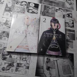A Heroica Lenda de Arslan - Vol.1 e 2 (Lote #110)