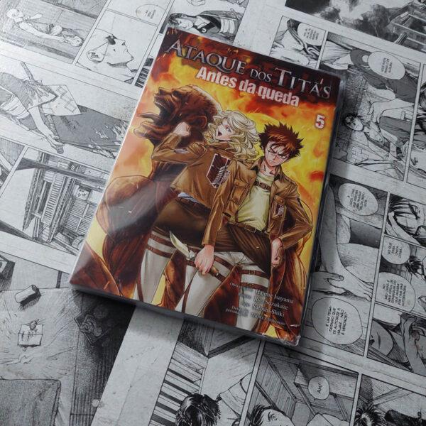 Ataque dos Titãs - Antes da Queda - Vol.5 (Lote #108)