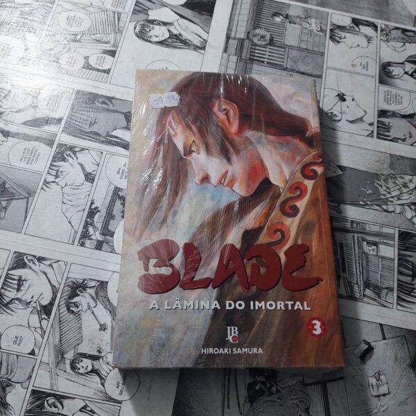 Blade - A Lâmina do Imortal - JBC - Vol.3 (Lote #111)