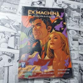 Ex Machina: Marcha à Guerra - Vol.4 (Lote #110)