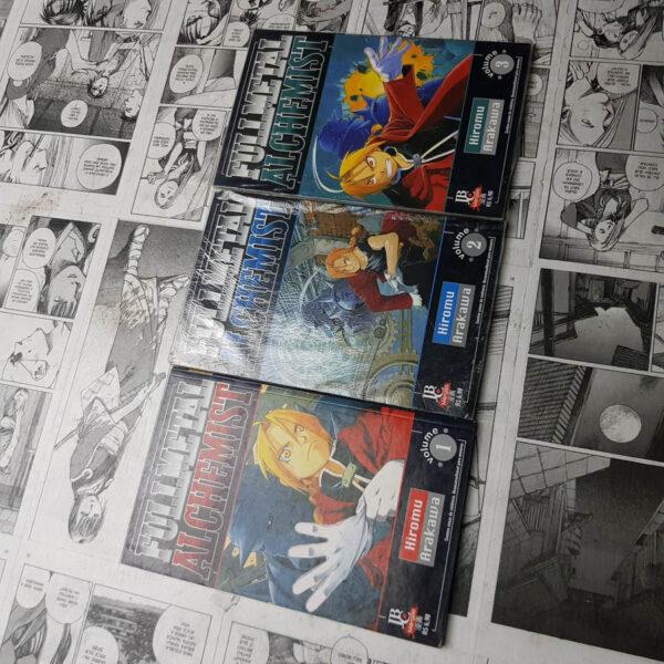 Fullmetal Alchemist - Ed. Ant. - Vol.1 ao 3 (Lote #107)