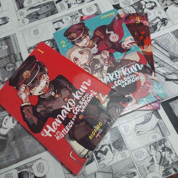 Hanako-kun - E os misterios do colegio Kamome - Vol.1 ao 3