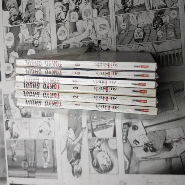 Tokyo Ghoul - Vol.1 ao 6 (Lote #107)