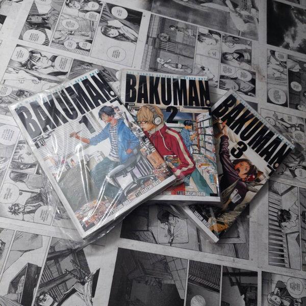 Bakuman - Vol.1 ao 3 (Lote 114)