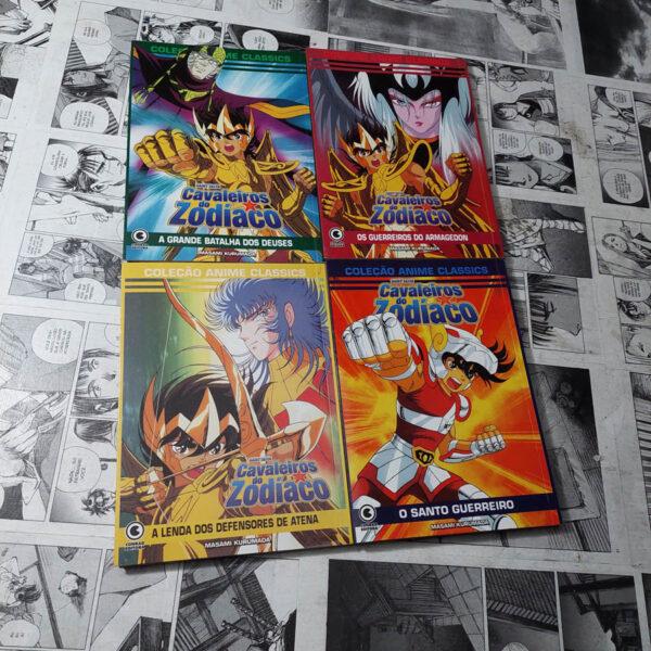 CDZ - OVA's - 4 volumes (Lote #113)