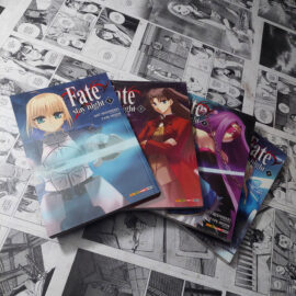 Fate Stay Night - Vol.1 ao 4 (Lote 114)
