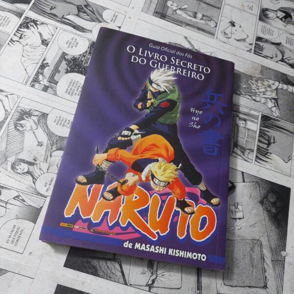 Naruto - O Livro Secreto do Guerreiro (Lote 114)