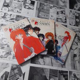 Rurouni Kenshin - Vol.1 ao 3 (Lote 114)
