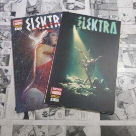 Elektra - Totalmente Nova Marvel - Completo (Lote #117)