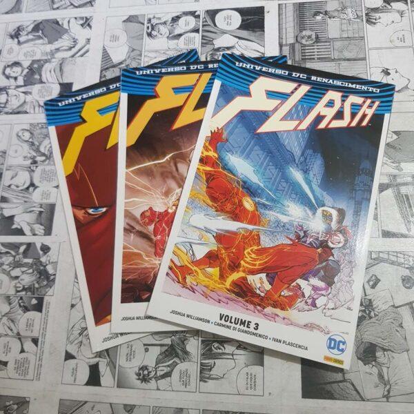 Flash - Renascimento - Vol.1 ao 3 (Lote #117)