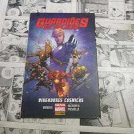 Guardiões da Galáxia - Vingadores Cósmicos (Capa Cartão) (Lote #117)